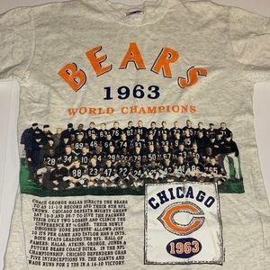 Vintage Chicago Bears 1973 World Champions T-shirt